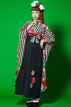 #袴 kimono hakamaレトロ