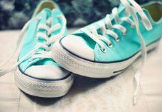 Tiffany Blue Converse Tennis Shoes | tiffany converse.. WANT!