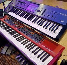 Synth Wedding Korg Kronos Nord  #korg #korgkronos #nord #nordkeyboard #synth #keyboard #live