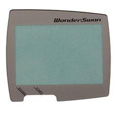 Timorn Ersatz Bildschirm Objektiv-Schutz-Abdeckung Objektiv f�r BANDAI Wonder Swan Bildschirm Objektiv mit doppelseitigen Klebeband (1x Silber Bildschirm Objektiv f�r WS)