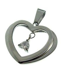Heart stainless steel jewelry pendants LeLe0042 : OK Charms, China Wholesale Jewelry Accessories Marketplace