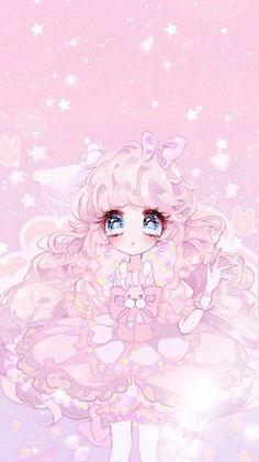 Pin by amber on anime kawaii kawaii wallpaper kawaii anime cute. Anime Girl Cute, Beautiful Anime Girl, Kawaii Anime Girl, Anime Art Girl, Chibi Wallpaper, Cute Anime Wallpaper, Girl Wallpaper, Arte Do Kawaii, Kawaii Art