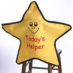 """""""Today's Helper"""" Star Seat Pocket!   LOVE this!"""
