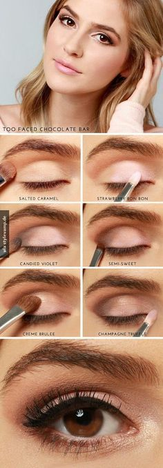Nude Eye Make Up                                                                                                                                                                                 Mehr