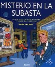 Libro-xogo que pretende facer partícipe ao lector da trama acontecida na casa de subastas da cidade. A obra aporta información sobre 34 cadros de autores moi coñecidos.