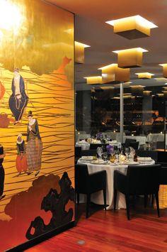 Restaurant Feitoria - Michelin Star dining http://www.johansens.com/portugal/lisbon--tagus-valley/altis-belem-hotel--spa