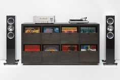 Don't Just Store, Display with the Dovetail Vinyl Storage | Man of Many