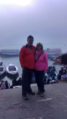 Our guests having a great time in the Spiritual Capital of India - Varanasi.