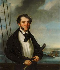 A Merchant Naval Captain circa 1830 - George Chinnery