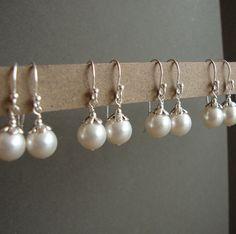 Bridesmaid's jewelry