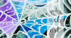 Spider Web Art Project for Kids