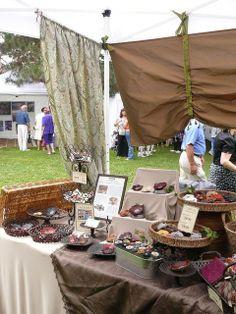 Craft Fair Booth Ideas | Craft Show Booth Ideas / RocktonShow1 by Viridian Handcrafts, via ...