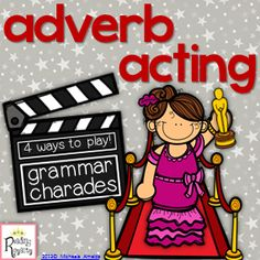 Adverb Acting is played like charades. There are 4 fun games included that get students up and moving around the classroom! Acting out the adverbs helps students to grasp that adverbs modify verbs (it is also a great review of verbs!) This is my BEST seller! $4.00 - Michaela Almeida, Reading Royalty