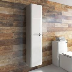 Planet Select White Wall Cabinet