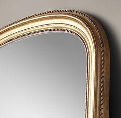 Neoclassical Design, White Master Bathroom, Leaner Mirror, Arch Mirror, Storage Mirror, Medicine Cabinet Mirror, Modern Shop, Home Hardware, Rug Sale