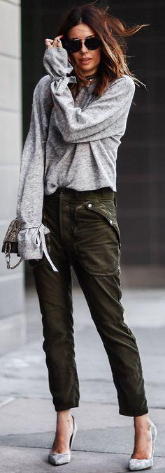 Grey + Khaki                                                                             Source