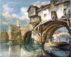 The Old Welsh Bridge I Joseph Mallord William Turner