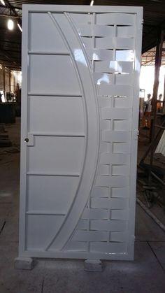 ideas for entrance door steel metal gates House Main Gates Design, Grill Gate Design, Steel Gate Design, Door Gate Design, Main Door Design, Sliding Door Wardrobe Designs, Entrance Gates, Entrance Ideas, Metal Gates