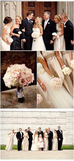 Pink Champagne Theme Wedding.