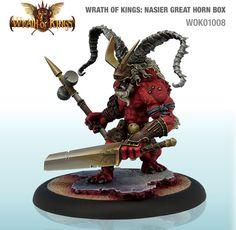 Wrath of Kings House Nasier Great Horn Box