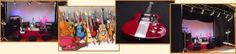 Eluney Miniaturas: Souvenir, réplicas de guitarras, bajos y otros instrumentos musicales