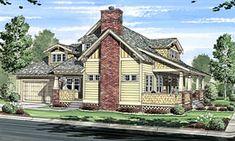 Bungalow   Cabin   Cottage   Craftsman   House Plan 56574