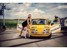 FIAT 126 Fiat 126, Fiat Abarth, Porsche 356, Small Cars, Retro Cars, Cars And Motorcycles, Pin Up, Racing, Vw Bugs