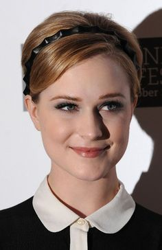 Short Hairstyles 2013: Evan Rachel Wood Pixie looks like an innocent, beautiful schoolgirl who knows that she just passed her final exams with flying colors. She is wearing an adorable, youthful hairstyle that makes the most of her pretty face. Her hair is parted on the side. Each side is brushed to the temples and …