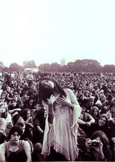 Moved by Spirit within Woodstock 1969 (Source: xenophillic)   Woodstock 1969