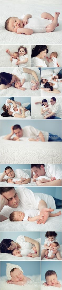 lifestyle newborn photo session