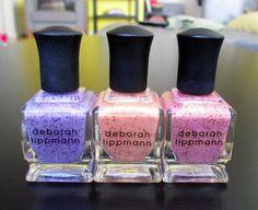 Keep Your Nail Game Fresh: Deborah Lippmann - Mermaids Collection #nails #nailpolish #swatches #review