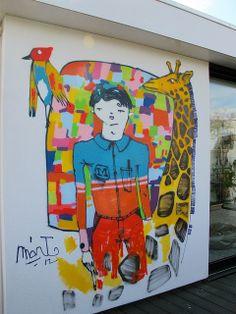 Street art | Mural by Mart