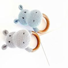 Hippo Rattle Teether Newborn Eco Rattle Wood Rattle Wooden Teether Ring Rattle Newborn Gift Baby Shower Gift Organic Baby Toys Eco Toy – baby world Newborn Gifts, Baby Gifts, Diy Laine, Organic Baby Toys, Crochet Baby Toys, Eco Baby, Diy Bebe, Baby Teethers, Baby Development