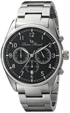lucien piccard men s lp 10340 rg 02s verona analog display quartz lucien piccard men s lp 10588 11 moderna analog display ese quartz silver watch