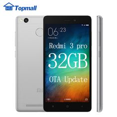 """=>>CheapOriginal Xiaomi Redmi 3 Pro Prime 3GB RAM 32GB ROM Snapdragon 616 Mobile Phone 4100mAh Battery Fingerprint ID 5.0"""" Metal Body-in Mobile Phones from Phones"""