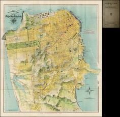 Map of San Francisco, 1915.