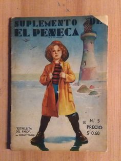 Shirley Temple Captain January Vintage Chilean Magazine El Penca 1936