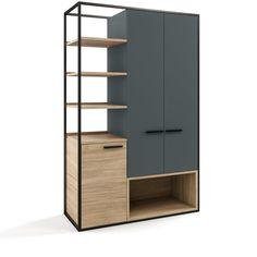 Steel Furniture, Industrial Furniture, Diy Furniture, Furniture Design, Shoe Cabinet Design, Cupboard Design, Home Room Design, Home Interior Design, Office Table Design