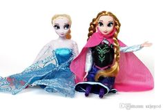 Frozen Elsa Anna Olaf Snowman Set Playset Dolls 12 Movable Joints Frozen Princesses Display Toys Kids Best Gift Online with $6.08/Piece on Cigmod's Store | DHgate.com