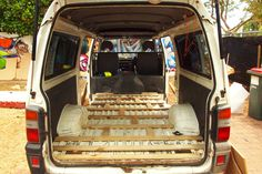 DIY Van to Campervan Conversion Before putting anything in the van, put a frame, so the floor will stay in place. Attach the wood frame to the van using a super strong glue. Van Conversion Life, Diy Van Conversions, Van Conversion Interior, Camper Van Conversion Diy, Van Insulation, Motorhome Rentals, Van Dwelling, Build Your Own House, Floor Framing