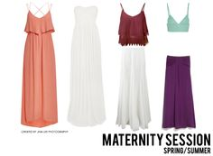 What to Wear: Maternity Session - Spring/Summer Outfit  Jina Lee Photography