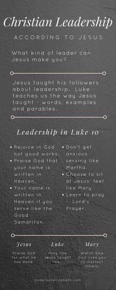 In Luke 10, Jesus teaches us one important thing every Christian leader needs to do