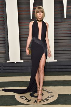 Taylor Swift - Os melhores looks da festa pós-Oscar da Vanity Fair - Vogue | Red carpet