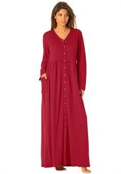 Amerimark Women S Snap Front Long Boucle Robe At Amazon