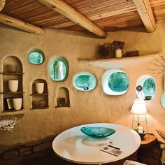 Adobe, cob, compressed earth blocks and clay-straw building methods are labor-intensive but return tremendous results.