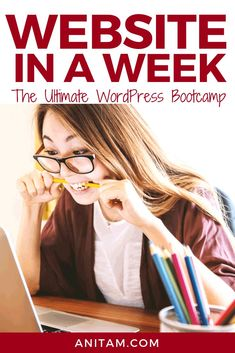 Looking to launch your WordPress website before the year is over? Check out Website in a Week: The Ultimate WordPress Bootcamp - packed with FREE Starter Kit Gutenberg Tutorial it's the only course you need to go from Layout to Launch in less than a week. Creative Business, Business Tips, Online Business, Web Design, Blog Design, Graphic Design, Learn Wordpress, Build Your Own Website, Hosting Company