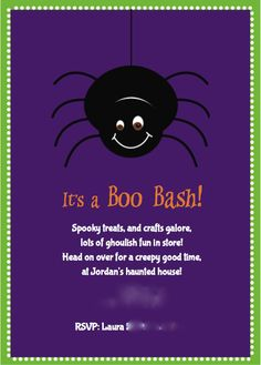"Photo 2 of 24: Halloween party for kids / Halloween ""Halloween Boo Bash for toddlers!"" 