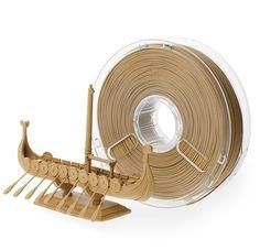 3D Printing Material: PolyWood,True Wood