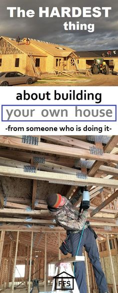 The hardest thing about building your own house- from someone who is doing it. How we saved over $65,000 building our own house