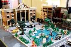 Back To the Future lego scene.  Hill Valley 2015.  Alex Jones is awesome!  Love this!